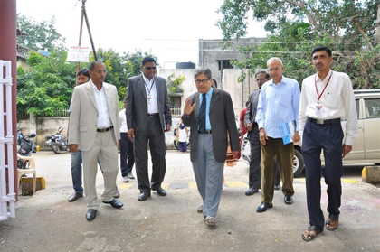 Visit of NAAC Peer Team