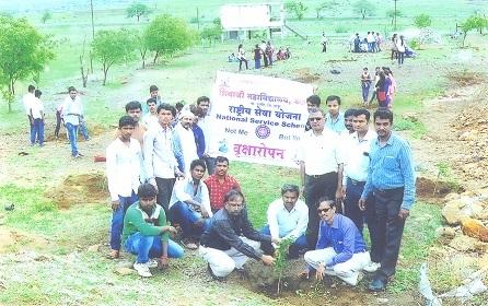 Tree Plantation at Dnyandpandhari Campus